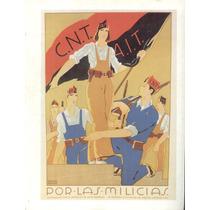 Guerra Civil Española-propaganda Politica-lamina-22 X 28(72)