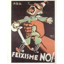 Guerra Civil Española-propaganda Politica-lamina-22 X 28(65)