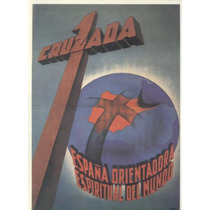 Guerra Civil Española-propaganda Politica-lamina-22 X 28(5)