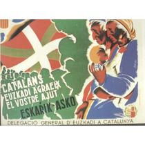 Guerra Civil Española-propaganda Politica-lamina-22 X 28(53)