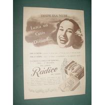 Publicidad Clipping Jabones Radico De Sales Antigua Cutis
