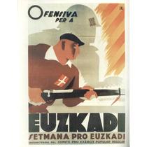 Guerra Civil Española-propaganda Politica-lamina-22 X 28(52)