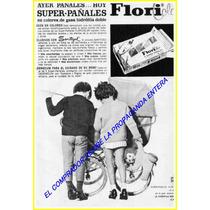 Propaganda De Pañales De Tela -flori Color Papel Fotografico