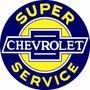 Carteles Antiguos Chapa 50cm Chevrolet Service Au-107