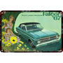 Carteles Antiguos De Chapa 60x40cm Ford Falcon 1967 Au-068