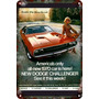 Carteles Antiguos 60x40cm Chrysler Dodge Challenger Au-186