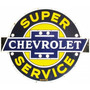 Poster Carteles Antiguos 50cm Chevrolet Service Au-108