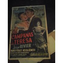 Afiche De Cine Las Campanas De Teresa Hidalgo Schlipper