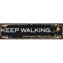 Carteles Chapas Publicidad Antigua Retro Johnnie Walker