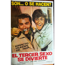 Poster El Tercer Sexo Se Divierte 1969 (the Gays Deceiver)