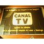 Afiche Antiguo Publicidad Revista Canal Tv Raúl Afiches