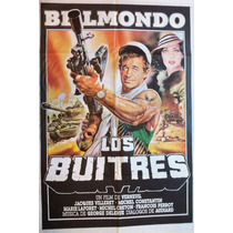 Poster Pelicula Los Buitres Jean Paul Belmondo