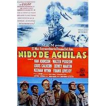 Nido De Aguilas ! Van Johnson Afiche Cine Orig 1954 N528
