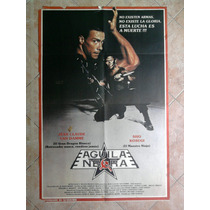 Aguila Negra 1383 J.c. Van Damme Afiche De 1 X 0.70