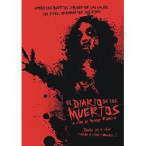Póster De Cine De El Diario De Los Muertos . Romero