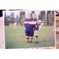 Miniposter Olmedo Y Porcel En Boca Juniors Los Fierecillos