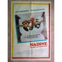 Nadine 1678 Kim Basinger Jeff Bridges Afiche De 1.10 X 0.75