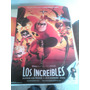 Lote Poster Los Increibles - Cine Animacion Dibujos Animados