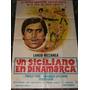 Un Siciliano En Dinamarca - Afiche Original - Coleccion