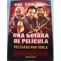 Poster Cine Una Guerra De Pelicula