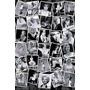 Poster De La Hermosa Marilyn Monroe - Collage - 91 X 61 Cm