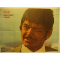 Poster Revista Para Ti De 1972 Charles Bronson 71x41cm