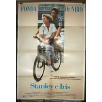 Robert De Niro Jane Fonda Afiche Orig 1989 Stanley Iris N381