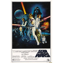 Poster De Lona Vinilica - Star Wars Iv A New Hope
