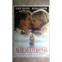 Algo Muy Personal 0821 Redford Pfeiffer 1 X 0.70
