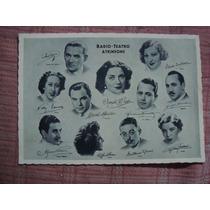 Tarjeta Radio Teatro Atkinsons Prado Laines Torres (c1)