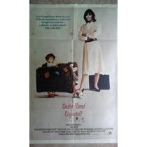 Quien Llamo A La Cigueña 0763 Diane Keaton 1.10 X 0.75