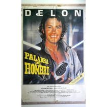 Palabra De Hombre 0221 Alain Delon Afiche De 1.10 X 0.75