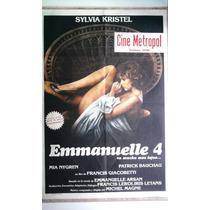 Emmanuelle 4 0162 Sylvia Kristel Afiche De 1.10 X 0.75