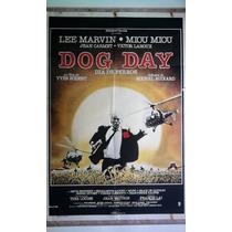 Dog Day 0247 Lee Marvin Miou Miou Afiche De 1.10 X 0.75