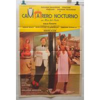 Camarero Nocturno Tristan Traverso Afiche Cine 70