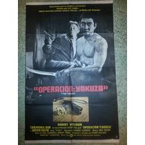 Afiche De Cine: Operacion: Yakuza - 1974 - Robert Mitchum