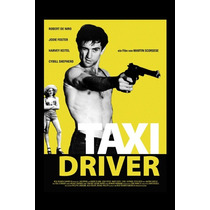 Carteles Antiguos Chapa Poster 60x40cm Taxi Driver Fi-068