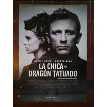 La Chica Del Dragon Tatuado 2886 Craig Afiche De 1 X 0.70
