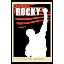Posters Afiches Lámina Full Hd 30x20cm Rocky Balboa Pfi-003