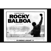 Carteles Antiguos Chapa Gruesa 60x40cm Rocky Balboa Fi-005