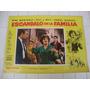 Afiche Cine-escandalo En La Familia-pintos-marshall-olmedo