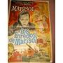 Afiche Antiguo Y Original Marisol