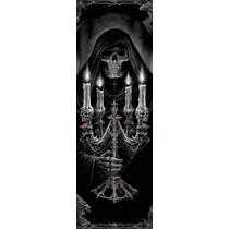 Poster De Fantasia De Anne Stokes - Esqueleto Con Candelabro
