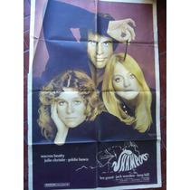 Afiche De Cine Shampoo C Warren Beatty Julie Christie Goldie