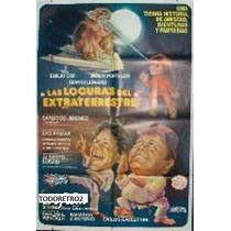 Afiche Las Locuras Del Extraterrestre Emilio Disi Portale 88