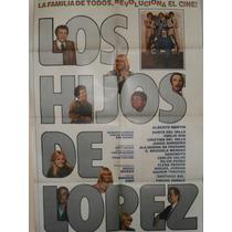 Poster Pelicula Los Hijos De Lopez - Año 1980-original