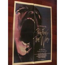 Afiche Antiguo Y Original Con Pink Floyd