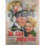 Poster Pelicula - Un Tipo Peligroso - Año 1958 Original