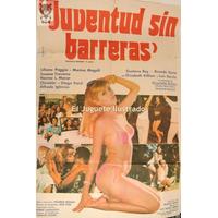 Juventud Sin Barreras Gran Afiche Cine Susana Traverso Darin