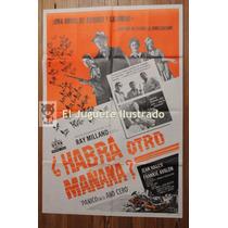 Panico Año Cero 1962 Ray Milland Afiche Cine Antiguo